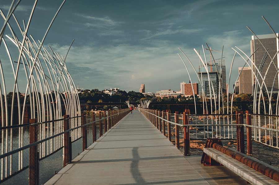 T. Tyler Potterfield Memorial Bridge, Richmond VA