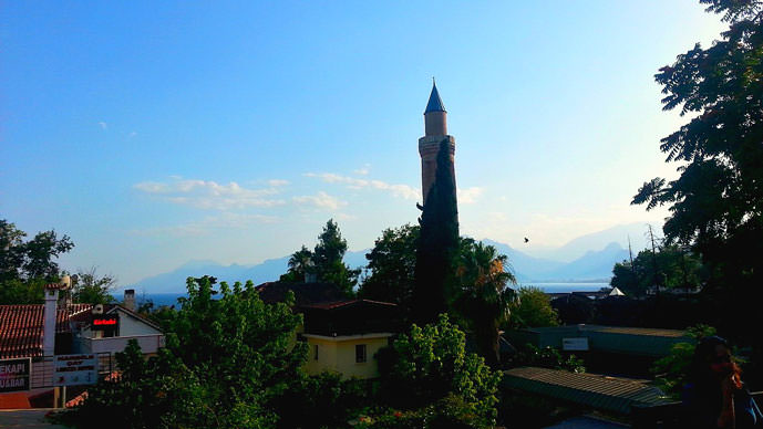 Clock Tower in Antalya, Turkey