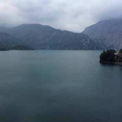 Water reservoir in Side, Turkey