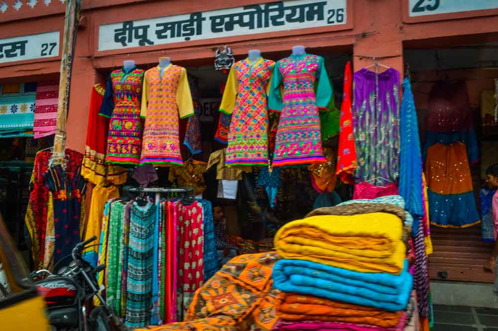 Shopping for Clothes in Pink City Jaipur