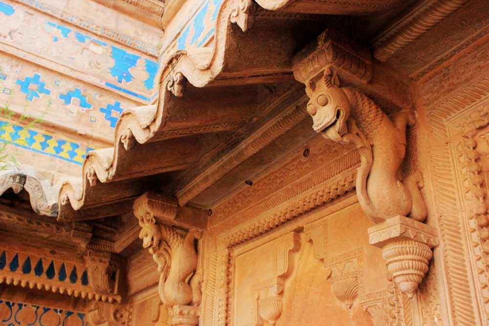 Dragon details Gwalior Fort