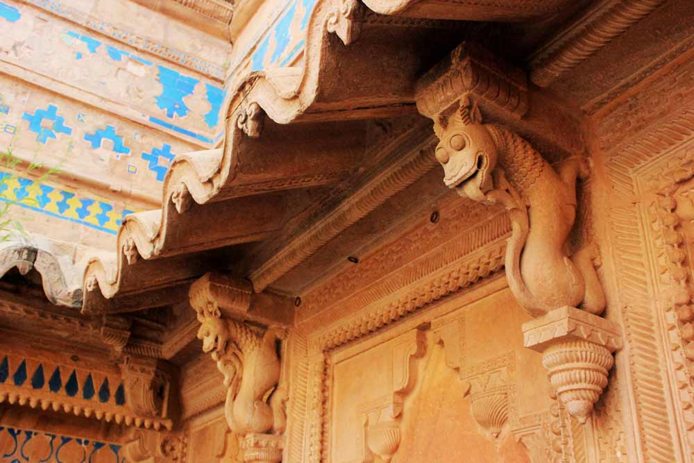 Dragon details Gwalior Fort