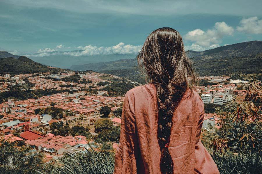 Cerro de La Gruta san gil colombia