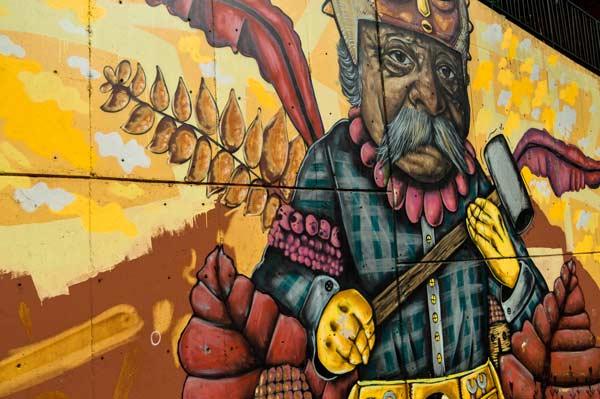 Graffiti in Comuna 13, Medellin, Colombia Tour