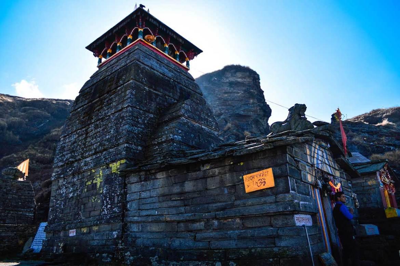 Tungnath Temple, the highest Shiva temple, Chopta, India