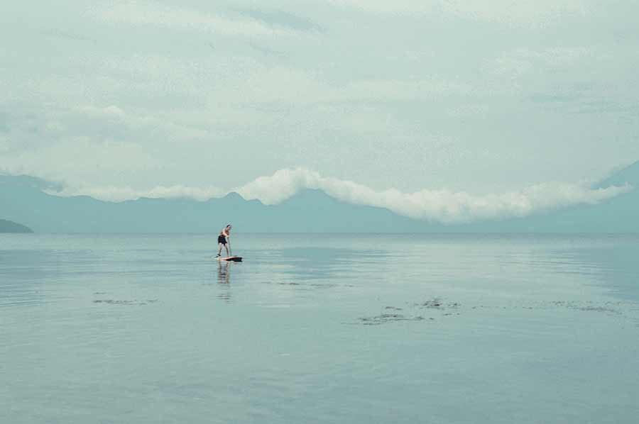 Paddle Boarding in Lake Atitlan Guatemala