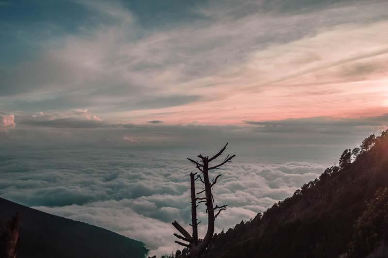 acatenango-sunset