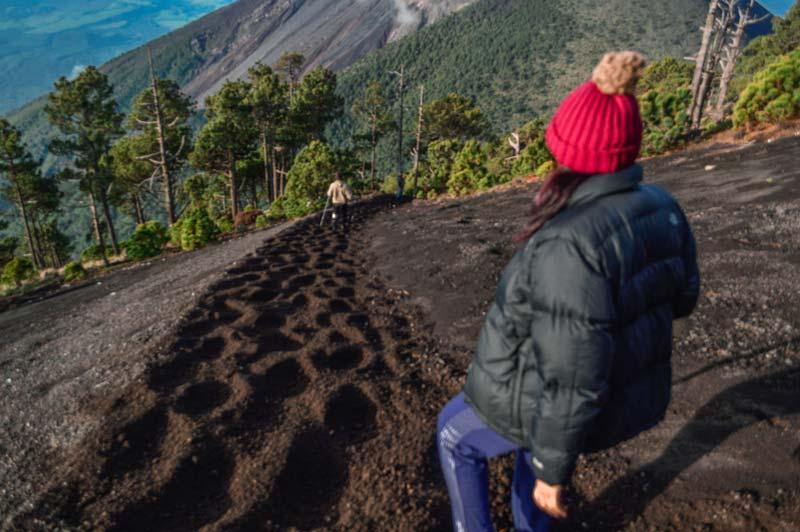 hiking-a-volcano