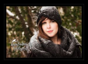 Tulsa Snow Portraits, Tulsa Portraits ©Beyond Ordinart Life Photography
