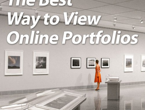 The Best Way to View Online Portfolios
