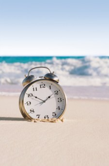 It's important to use your time wisely, but don't get bogged down by planning every second.