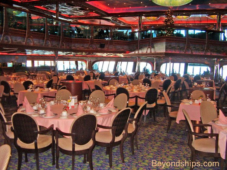Carnival Conquest Photo Tour Guide And Commentary Dining