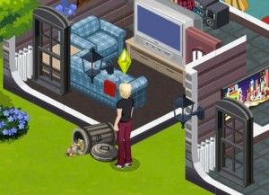 The Sims Social - 3 New Screen Shots! Bang! Bang!