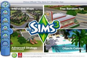 Freemium Sims 3 Prima App!
