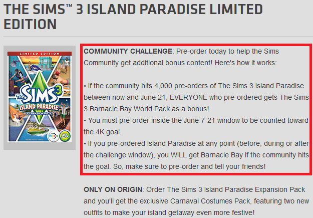 An Origin Island Paradise Pre-Order Challenge!!!! | Beyond Sims