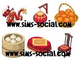 Sims Social - Upcoming Chinese New Year Items