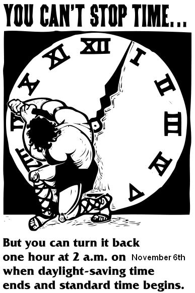 Daylight Savings Time Reminder!