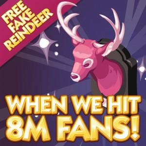 Sims Social - Pink Reindeer Update