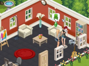 The New York Times and The Sims Social
