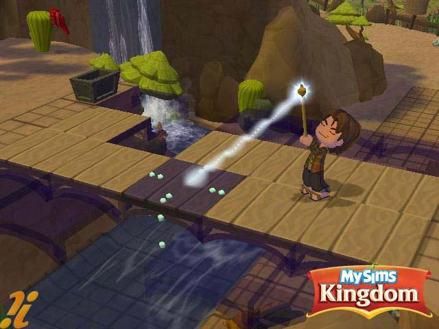 More screens from MySims Kingdom (Wii)