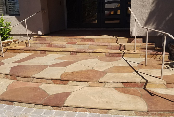 flagstone cleaning sealing and