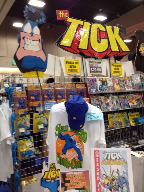 The Tick booth