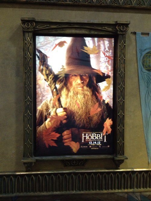 Gandalf in The Hobbit