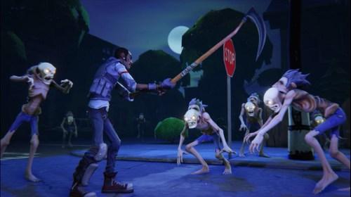 Husks attack at night