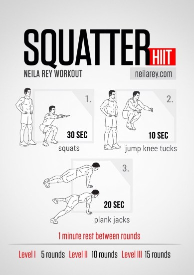 Squatter HIIT Workout