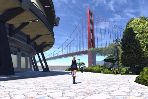 Golden Gate Bridge in Star Trek Online