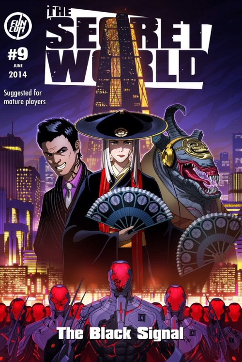 The Secret World Issue 9