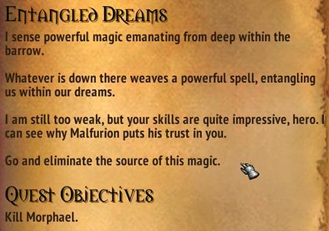 Quest - Entangled Dreams