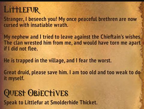 Quest - Littlefur