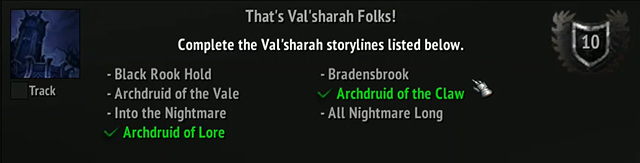 Val'sharah Questlines