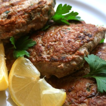 Hidden Liver Mediterranean Turkey Burgers (AIP)