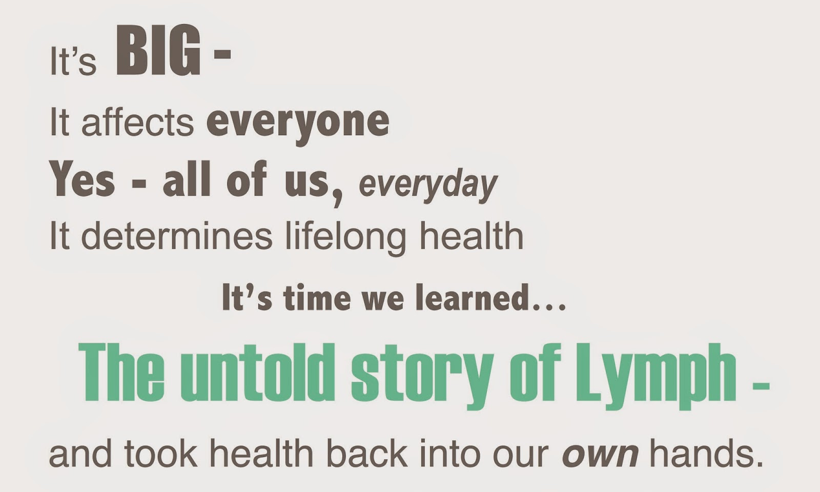 The Untold Story of the Lymphatic System - Beyond the Bite