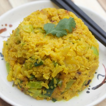 AIP Paleo Yellow Lebanese Rice (Keto, Low-FODMAP)