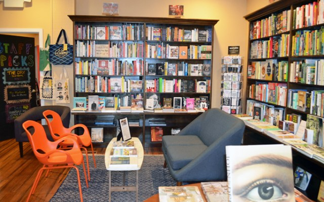 Reading Nook at Narberth Bookshop Narberth, PA