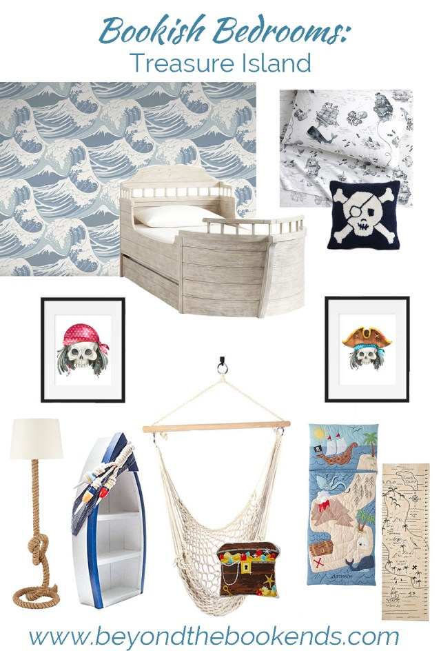 Treasure Island Pirate Bedroom for your first mate!