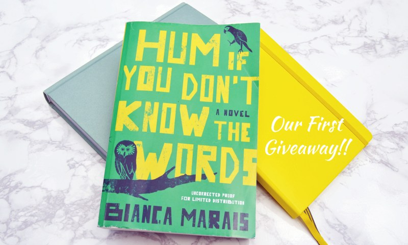 Our first book giveaway - enter for a chance to win one of (2) copies of Hum If You Don't Know the Words by Bianca Marias