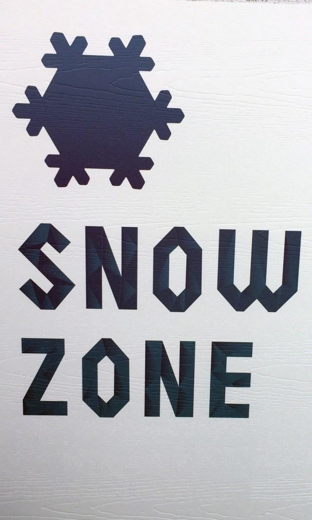 Snow Zone at Philadelphia Zoo's newest exhibit!