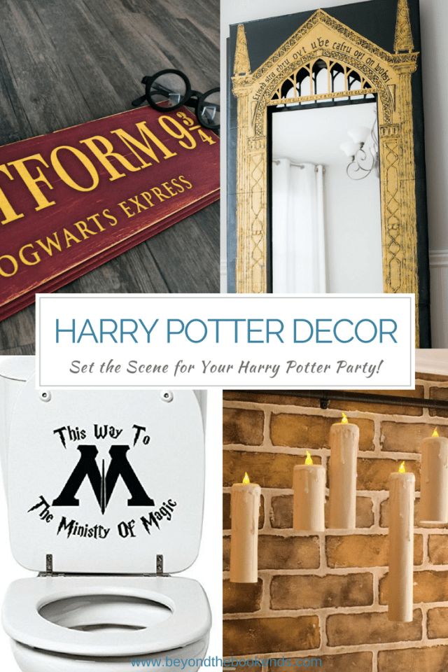 The perfect decor for your Harry Potter party. From the mirror of erised, to floating candles, to platform 9 3/4. We have the perfect decorations to set the mood for all you muggles!