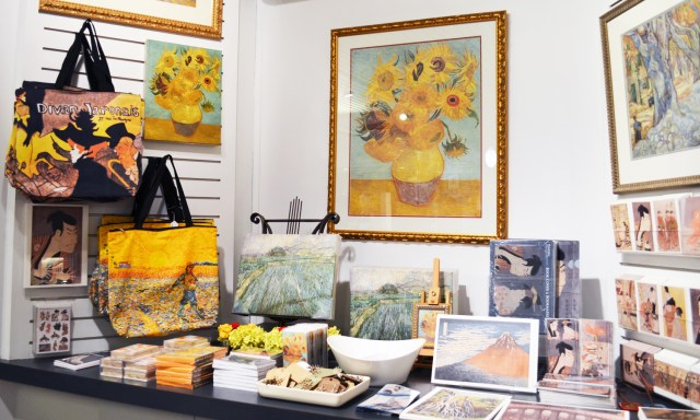 The Von Gogh display was perfect as we had come after reading Vincent and Theo.