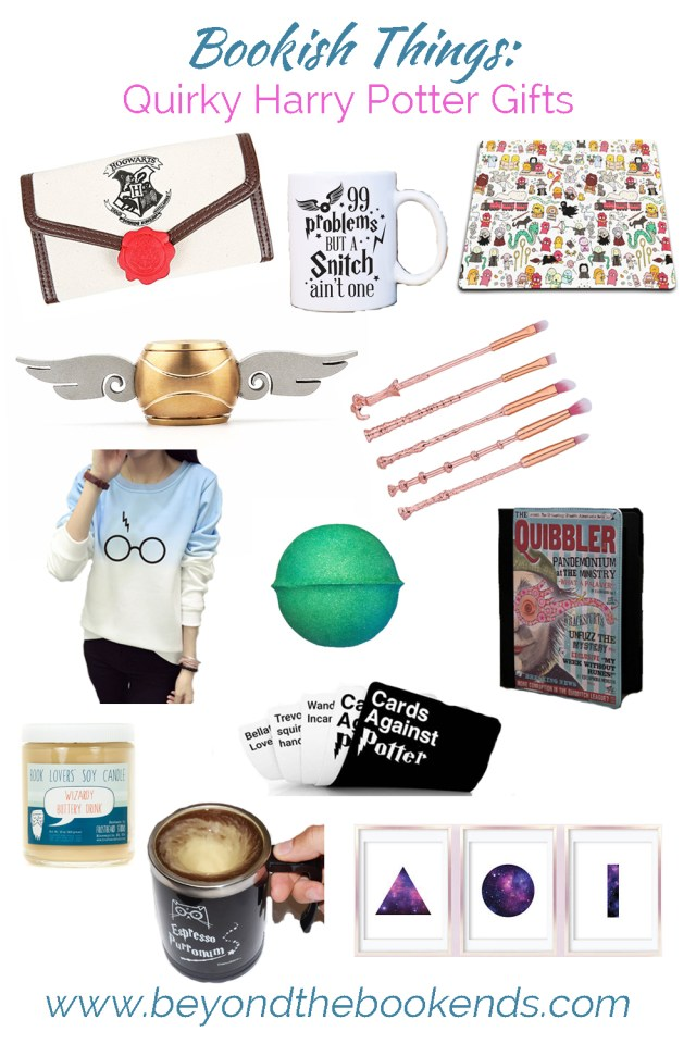 Golden Snitch Fidget Spinners, wand makeup brushes and a self-stirring mug are just a few highlights on this Harry Potter gift list!