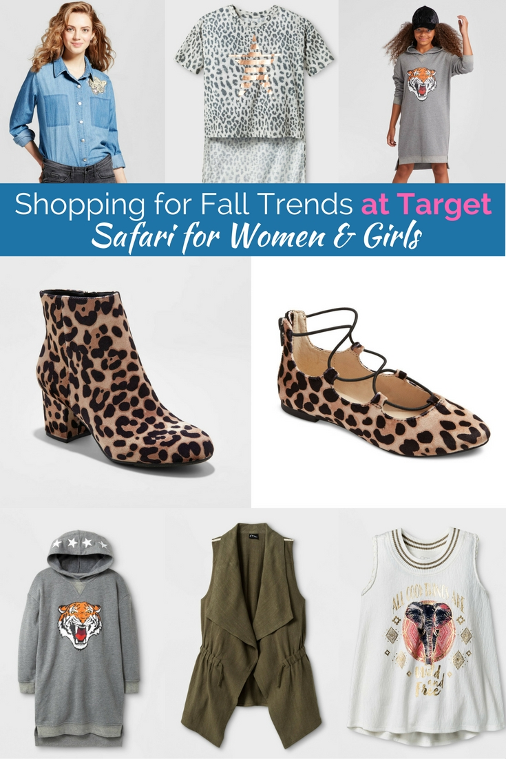 The cutest animal inspired fashion from target! Perfect style on a budget!