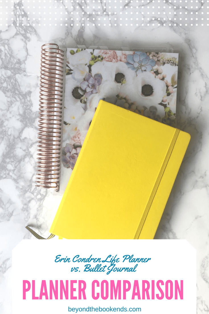 Which is better? You choose! Erin Condren Life Planner takes on The Bullet Journal!