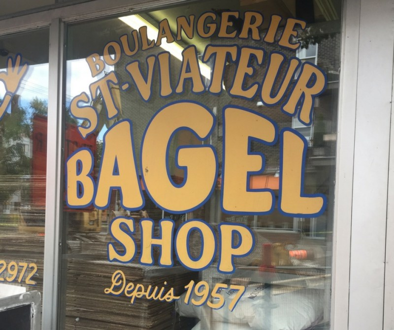 St. Viateur Bagel Shop - a must do if you visit Montreal for 2 days.