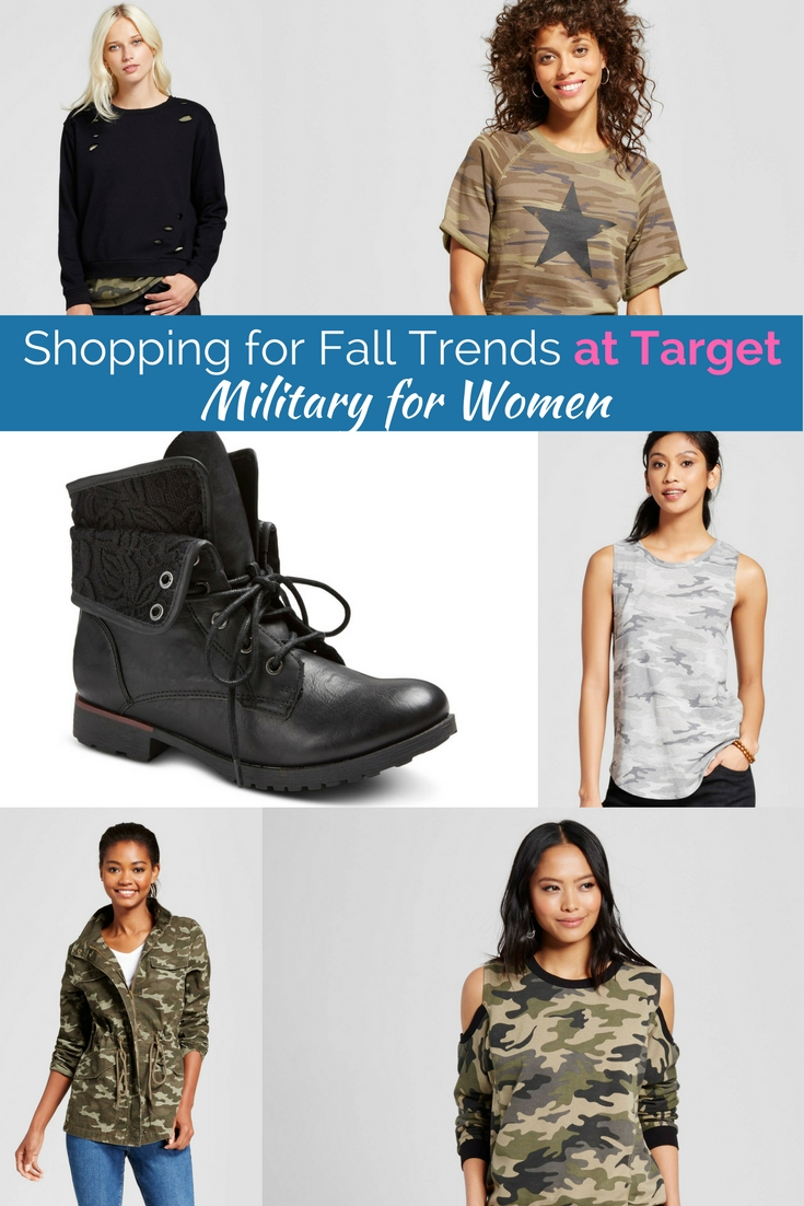 The hottest trends at low prices from Target. Military, velvet, embroidery and more!