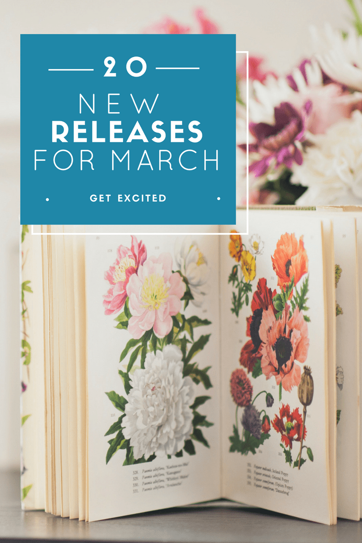 Spring has sprung and it's time to read!! Lots of great choices being released this month!