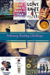 Beyond the Bookends Reading Challenge for February 2018 is #own voices. We have recommendations for books to read as well as a list of our favorites.
